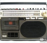 """AIWA(アイワ) ラジオ・カセット・レコーダー(3BAND RADIO CASSETTE RECORDER) """"TPR-155"""""""