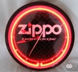 Zippo(ジッポー) ネオン壁掛け時計