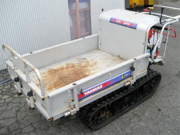 "YANMAR(ヤンマー) 油圧ダンプ&リフト式 クローラー運搬車 ""MCG1200 ILD-EZ"""