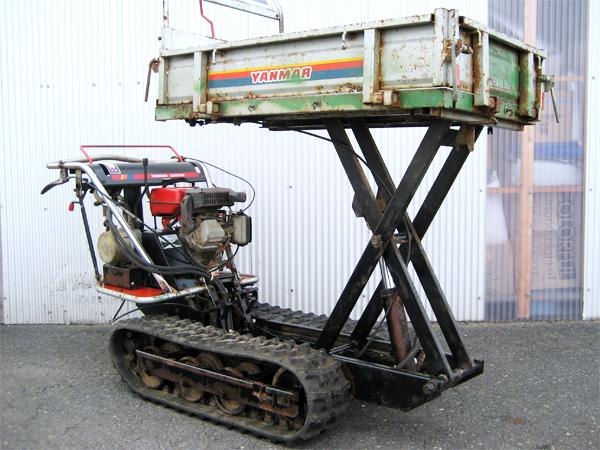 """YANMAR(ヤンマー) 油圧ダンプ&リフト式 クローラー運搬車 """"MCG95"""""""