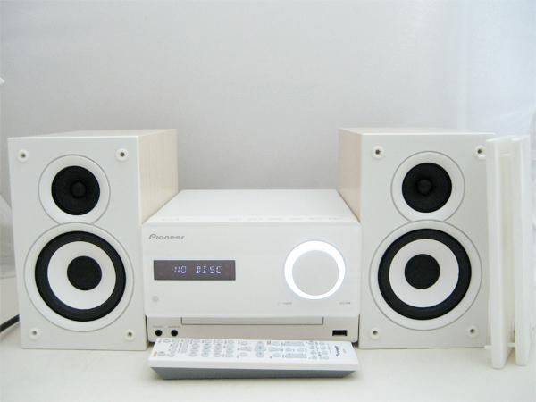 Pioneer(パイオニア) CDミニコンポーネントシステム X-CM32BT-W