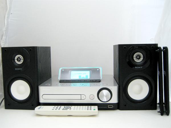 SONY(ソニー) HDDコンポ CMT-E350HD(シルバー/160GB)