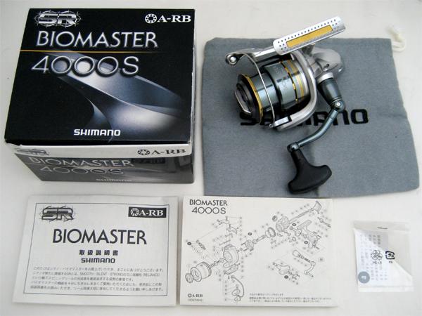 SHIMANO(シマノ) BIOMASTER(バイオマスター) 4000S SD67H