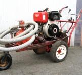 YANMAR(ヤンマー) 空冷ディーゼル L100ASES(10馬力) セル付き自走式エンジンポンプ