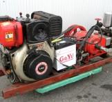 YANMAR ヤンマーディーゼルエンジン L60SES(6馬力)、池野産業 動力噴霧機(動噴) SPRAYER HS-8E