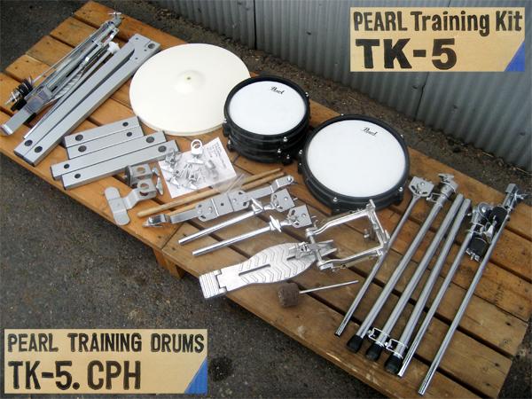 Pearl(パール) トレーニング用(練習用)ドラムセット TK-5.CPH