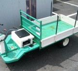 atex(アテックス) 3輪ホイル型運搬車 SL380☆小旋回☆積載 600kg☆セル付き