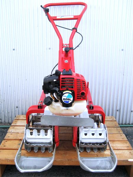 太昭農工機 ウデキン 2条水田除草機 ミニエース TG-E S型転車(標準田用)