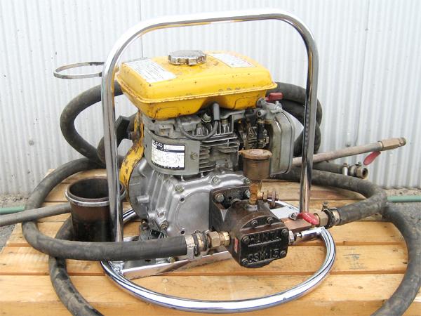 HANTA(範多機械) アスファルトスプレイヤ CSM-15H 乳剤散布