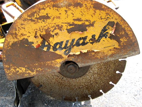 ハヤシ(Hayashi) コンクリートカッター HRC30YW