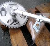 やまびこ shindaiwa(新ダイワ) エンジン刈払機(両手ハンドル草刈機) RM350-2E かろーね