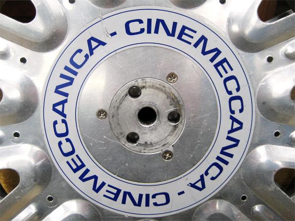 CINEMECCANICA(シネメカニカ) 35mmフィルムリール