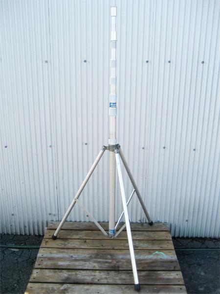 4.6m アラキアンテナ ARAKI 移動式三脚 ST-460 伸縮ポール YP-460S セット