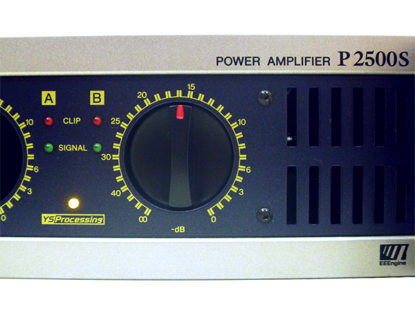 YAMAHA(ヤマハ) パワーアンプ P2500S