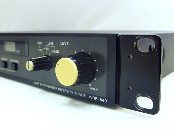 SONY(ソニー) 2chダイバーシティーワイヤレスチューナー・受信機(UHF SYNTHESIZED DIVERSITY TUNER) WRR-840