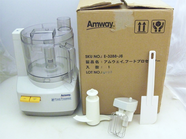 Amway(アムウェイ) フードプロセッサー E-3288-J(2014年製)