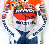 南海(NANKAI) レプソルホンダ(HONDA REPSOL) レーシングスーツ Lサイズ(日本製)