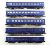KATO(カトー) 10系 急行形客車 寝台列車 5両セット(オハネフ12 2100/オハネ12 36/オロネ10 2048/オシ17 2018)