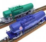 KATO(カトー) タンク車/貨物列車 2両セット(日本石油輸送/タキ1000-299 + 日本オイルターミナル/タキ1000-93)