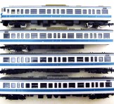 TOMIX(トミックス) 113系 近郊電車(阪和色/限定品) 4両セット(2381/2362/2384 2364/2363 2383)