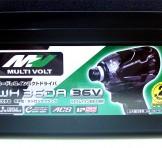 HITACHI(日立工機) マルチボルト(36V) コードレスインパクトドライバ WH36DA(2XPB)