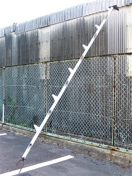アルミ製 木登り器 4m 枝打ち梯子