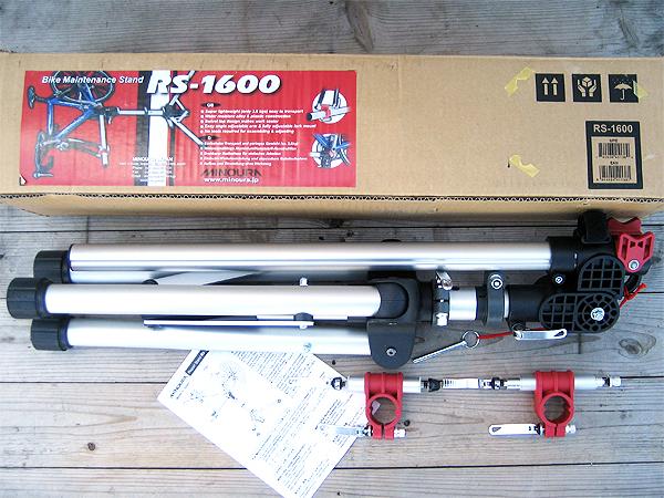 ミノウラ MINOURA 3脚式ポータブル小型軽量ワークスタンド RS-1600