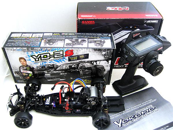 YOKOMO 組立済シャーシ YD-2S + SANWA プロポ M-12