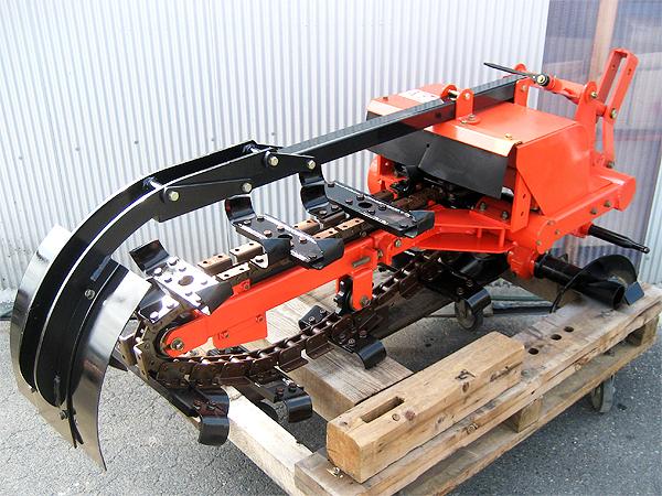 日の本 トラクター用トレンチャー AT-40W