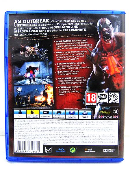 PS4 Killing Floor 2(キリングフロア2) 欧州版(イギリス/UK版)