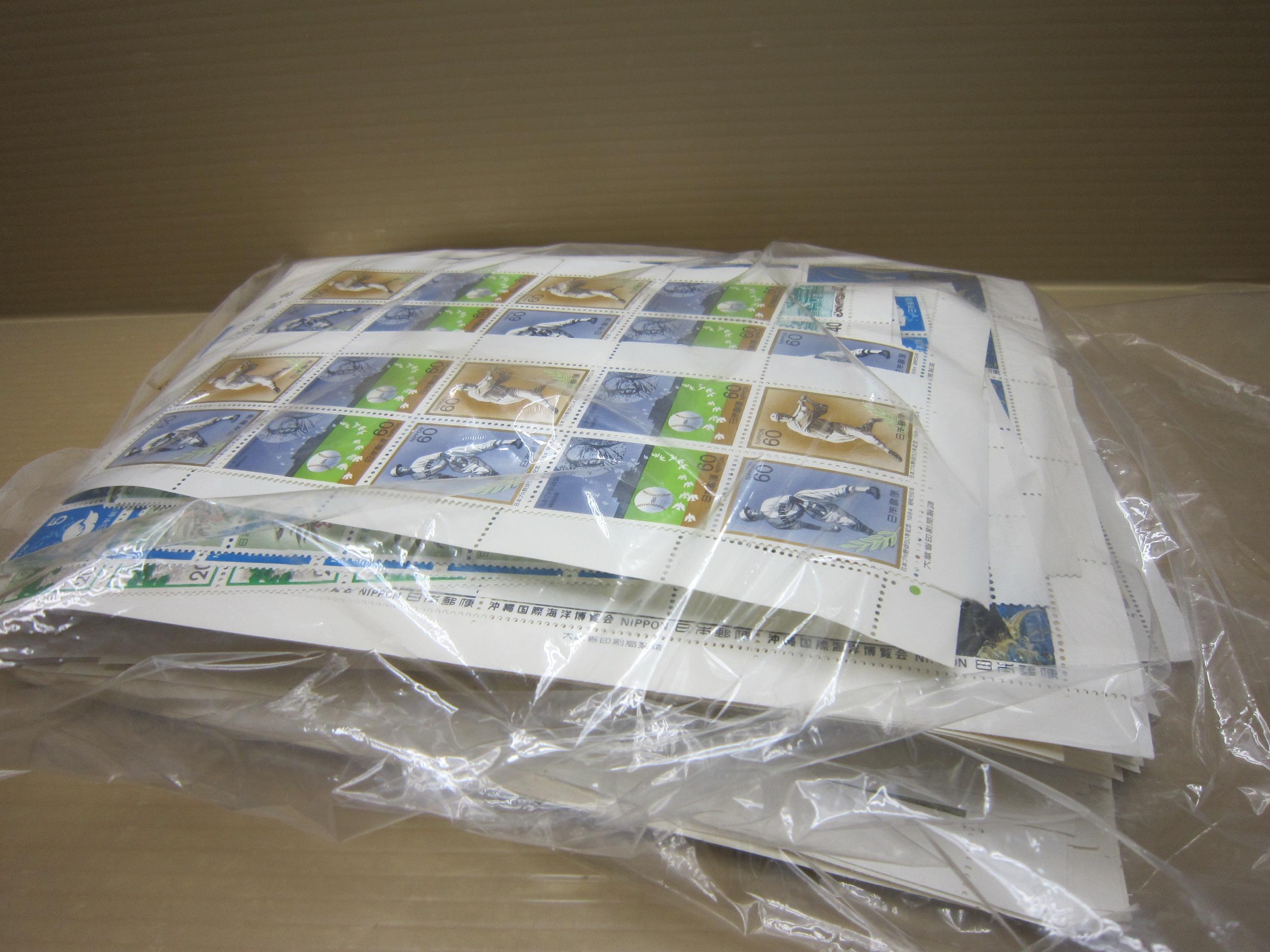 58e906916035 ジャム鳥取店|切手大量にお売りいただきました。昔集めていた切手 ...