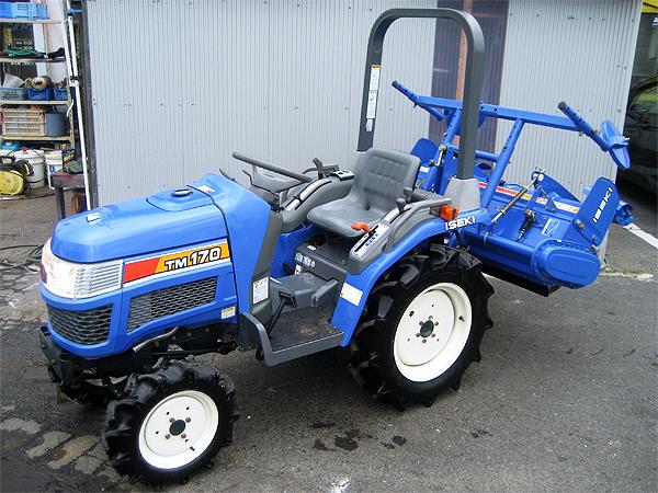 イセキ(ヰセキ/井関) 4WDトラクター ハンタージュニア TM170-UKXZ