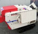 ミツビシ 三菱 ハーベスタ あきばれ MH51 自動脱穀機 MH40