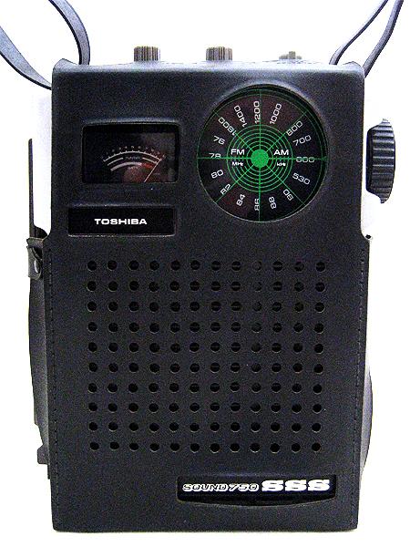 東芝 FM/AMアンティークラジオ RP-727F