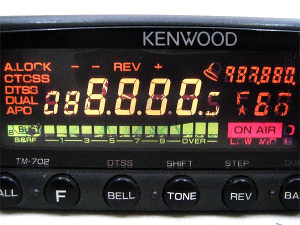 KENWOOD FMデュアルバンダー TM-702