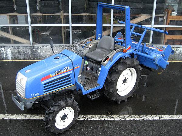 イセキ 4WDトラクター SIAL21 TF21F
