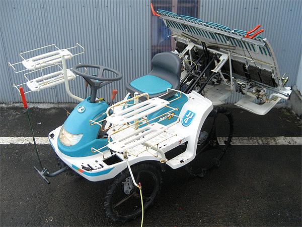 クボタ 4条植え乗用田植機 JJ4