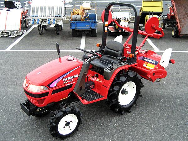 ヤンマー 4WDトラクター Ke-40