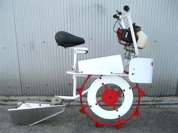 マメトラ農機 乗用水田溝切機 MRT-B5